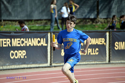 Boys Var Spring Track 5-3-14MrO'Connor