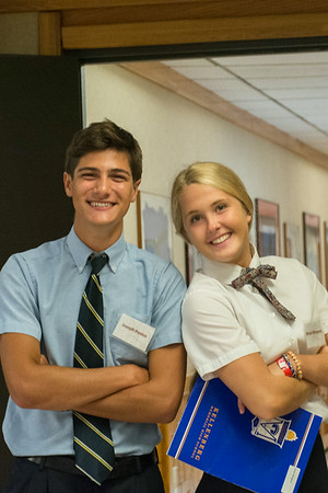 "Marianist Mentors working at Triple ""A"" - 2014"